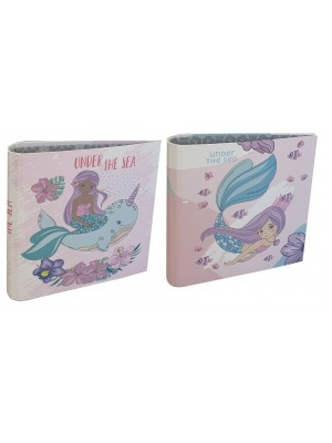 Carpeta 3x40 cartone laca sectorizada y relieve MERMAID  01204559