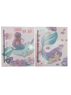 Carpeta Nº3 cartone laca sectorizada MERMAID  01204560