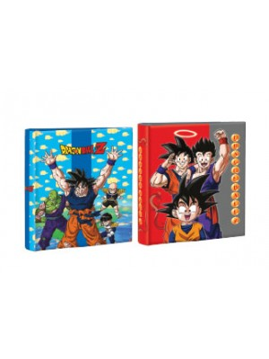 Carpeta 3x40 cartone con laca sectorizada y relieve DRAGON BALL 01204190