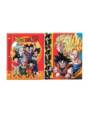 Carpeta N°3 cartone con laca sectorizada DRAGON BALL 01204281