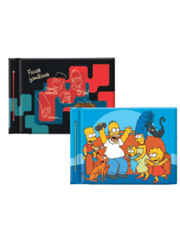 Carpeta cartoné nº5  SIMPSONS 01204280