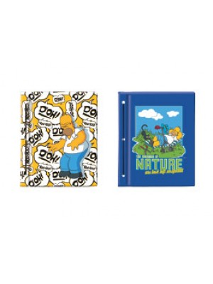 Carpeta cartoné nº3  SIMPSONS 01204279