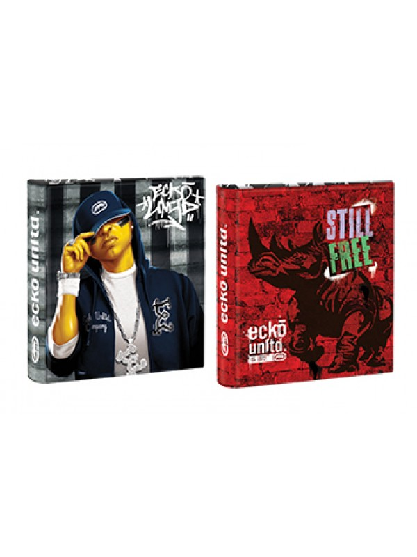 Carpeta 3x40 cartone con laca sectorizada y relieve ECKO 01204291