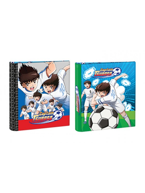 Carpeta 3x40 cartone  con laca sectorizada y relieve CAPTAIN TSUBASA 01204443