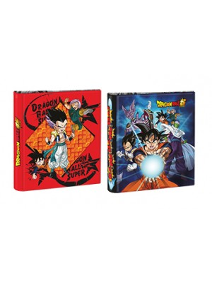 Carpeta 3x40 cartone con laca sectorizada y relieve DRAGON BALL 01204440