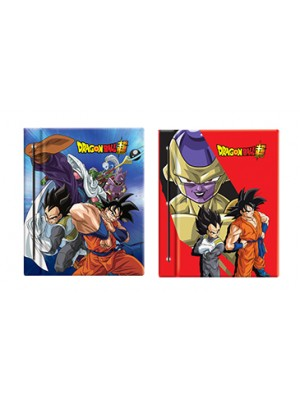 Carpeta Nº3 cartone con laca sectorizada DRAGON BALL 01204446