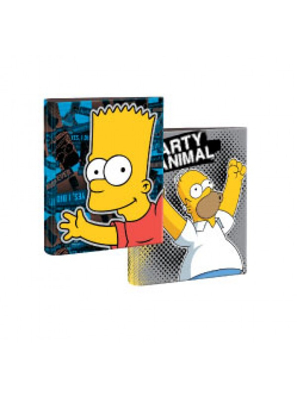 Carpeta 2x40 a4 cartone SIMPSONS 01204187