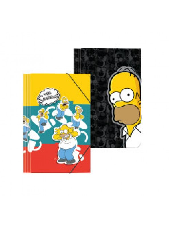 Carpeta 3 solapas cartone SIMPSONS 01204188