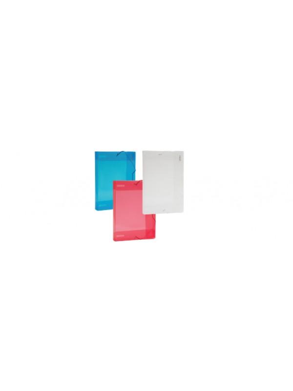 Caja de archivo PP 4.5cm OF azul DATABASE 01400840