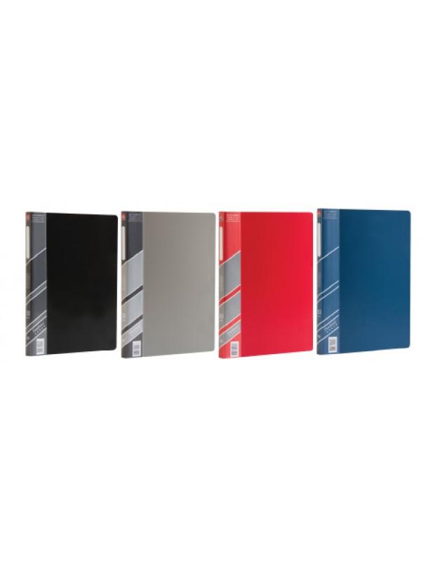 Carpeta 30 folios A4 rojo DATABASE 01400926